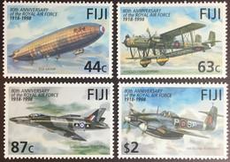 Fiji 1998 RAF Air Force Anniversary Aircraft MNH - Fiji (1970-...)