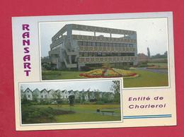 C.P. Ransart  = Hôtel  De Ville  +  CORON - Charleroi
