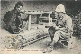VIET-NAM : Tonkin, Yen-Thé, Interrogatoire D'un Pirate A Gho-Go - Vietnam