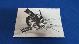 VINTAGE POSTCARD SATELLITE D1 - PALAIS DE LA DECOUVERTE PARIS FRANCE NOT CIRCULATED 1972 - Astronomia