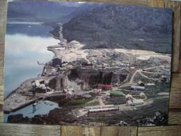 Représentation Du Timbre, Cryolite The Mine At Ivittuut SW Greenland 1960, Cryolite La Mine à Ivittuut SW Groenland 1960 - Groenlandia