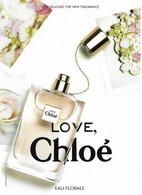 "CHLOE "" Love, Chloé "" Eau Florale Carte Thaîlandaise Recto Verso - Duftkarten"