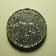 India 1/2 Rupee 1946 - India