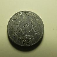 India 1/4 Rupee 1951 - India