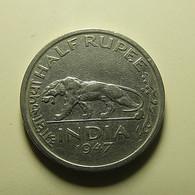 India 1/2 Rupee 1947 - India