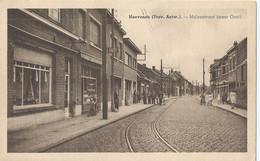 Hoevenen - Molenstraat (naar Oost) - Uitg. Van De Vliet-Vander Steen (Behanger-Garnierder) - Stabroek