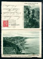 # - Carte-lettre VEULES LES ROSES - Vue Générale De La Plage - Promenade Des Champs Elysées (avec DAGUIN) - Sonstige Gemeinden