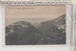 RAVELLO SALERNO PANORAMA DAL MONTE BRUSARA NP VG - Salerno