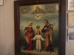Quadro  1921 --la  Sacra  Famiglia  Firmato Da Autenticare - Altre Collezioni