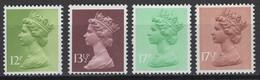 Grande-Bretagne 1980. Michel N° 821/24 Ou Y&T N° , MNH, **, Neufs. - Nuovi
