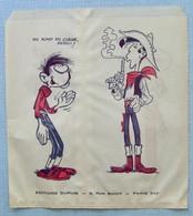 Sac Publicitaire En Papier Dupuis Années 60. - Advertisement