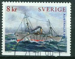 "Bm Sweden 1999 MiNr 2101 Used | ""Australia 99"" International Stamp Exhibition, Melbourne. Paintings Of Ships - Gebraucht"