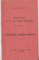 Auderghem, Bulletin Institut N.D. Du Bon Conseil. - Diploma's En Schoolrapporten