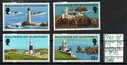 BRITISH EMPIRE#:EUROPE# GUERNSEY#:#QUEEN ELIZABETH II# COMMEMORATIVE**# (GBE-260C-4) (04) - Lighthouses