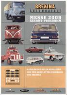Catalogue BREKINA Messe 2009 Neuheiten & Kompletten Programm Von Brekina - En Allemand - Catalogues & Prospectus