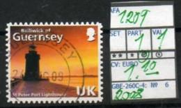 BRITISH EMPIRE#:EUROPE# GUERNSEY#:#QUEEN ELIZABETH II# DEFINITIVE**# (GBE-260C-4) (06) - Lighthouses