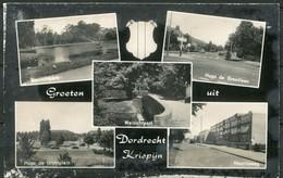 Dordrecht - 5 Foto's Op Ongelopen Kaart - Uitgave Spanjersberg 1162 - - Dordrecht