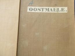 Oostmalle - Stafkaart 1878 - Met Oa Oostmalle Westmalle Groot-Veerle Sint-Leonard Oostbrecht ... - Topographical Maps