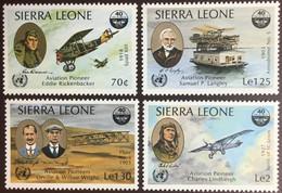 Sierra Leone 1985 ICAO Anniversary Aircraft MNH - Sierra Leone (1961-...)