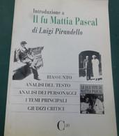 Il Fu Mattia Pascal - Marco Tani - Clio -1993 , 1^ed. - 128 Pag. - 14,4x 21,5 - Libri, Riviste, Fumetti