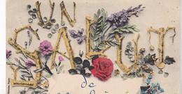 04 / UN SALUT DE VACHERES / CIRC 1910 - Andere Gemeenten
