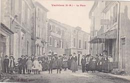 04 / VACHERES / LA  PLACE  / MAGNIFIQUE CARTE / CIRC 1911 - Andere Gemeenten