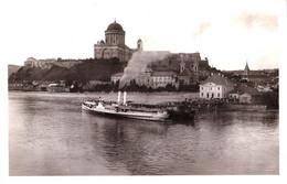 "ESZTERGOM / GRAN : BATEAU / SHIP "" SOPHIE "" [ D.D.S.G. ] Sur / On DANUBE - CARTE VRAIE PHOTO / REAL PHOTO ~ 1930 (af454) - Hungría"