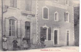 04 / TOP VACHERES / LA PLACE /HOTEL DES ALPES / TABACS / MAGNIFIQUE CARTE / CIRC 1911 / RARE ++ - Andere Gemeenten