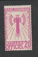 Service  - 1943    -  N° 15     - Francisque -    Neuf  Sans Charnière  - - Ungebraucht