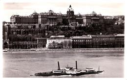 "BUDAPEST : BATEAU / SHIP "" PÉCS "" Sur / On DANUBE - CARTE VRAIE PHOTO / REAL PHOTO POSTCARD ~ 1930 - '935 (af455) - Hungría"