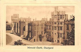 Warwick Castle, Courtyard, Medieval, Chateau Schloss - Andere