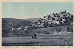 04 / SIMIANE / VUE GENERALE PRISE ROUTE DE BANON - France