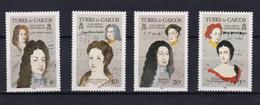 Nr 733-36** - Turks E Caicos