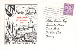 HERM - FDC EUROPA 1961 /AS188 - Local Issues