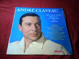 ANDRE  CLAVEAU   ° LES PLUS BELLES CHANSONS D' AMOUR  DU MONDE   / 33  ORIGINALE ANNEES 60 - Vinylplaten