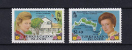 Nr 803-804 ** - Turks E Caicos