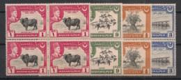 Bahawalpur - 1949 - N°Yv. 18 à 21 - Série Complète En Blocs De 4 - Neuf Luxe ** / MNH / Postfrisch - Bahawalpur