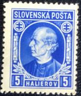 Slovenska - P3/8 - (°)used - 1939 - Michel Nr. 35 - Andrej Hlinka - Slovakia