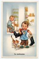 Le Petit Cordonnier. Petits Chats Dans Les Bottes. - Portraits