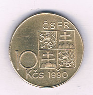 10 KORUN  1990 TSJECHIE /7479/ - Repubblica Ceca