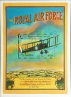 Gambia 1993 RAF Air Force Anniversary Aircraft Minisheet MNH - Gambia (1965-...)