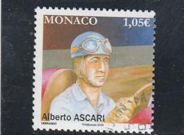 MONACO 2019 ALBERTO ASCARI OBLITERE - Mónaco