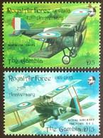 Gambia 1993 RAF Air Force Anniversary Aircraft MNH - Gambia (1965-...)