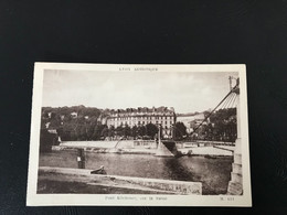 421 - LYON ARTISTIQUE Pont Kitchener, Sur La Saone - Lyon 5