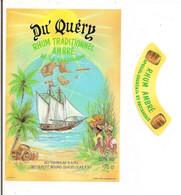 Etiquette  DU' QUERY  Rhum  Traditionnel Ambré - GUADELOUPE - Imp. Gougenheim - - Rhum