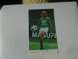 Football - AS Saint Etienne - Autographe Osvaldo Piazza - Handtekening