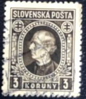 Slovenska - P3/8 - (°)used - 1939 - Michel Nr. 42 - Andrej Hlinka - Slovakia