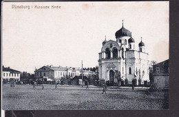 Lettland Dünaburg Russische Kirche - Latvia