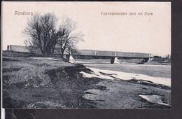 Lettland Dünaburg Eisenbahnbrücke - Latvia