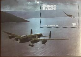 Grenadines Of St Vincent 1990 Aircraft Dambusters Minisheet MNH - St.Vincent & Grenadines
